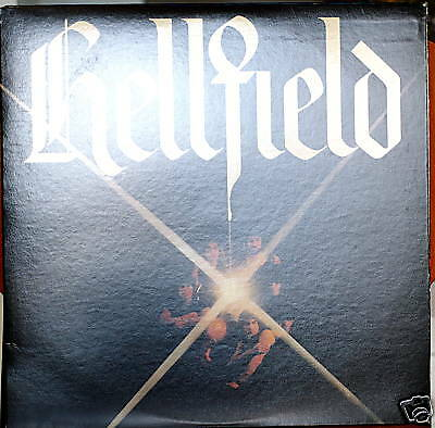 HELLFIELD: self-titled-NM1978LP WHITE LABEL PROMO COPY