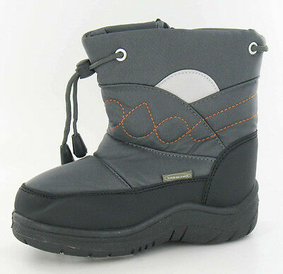 Joblot Wholesale Boys Snow Boots Junior Sizes Euro 23-30 x15 pairs 8.561801AFV5