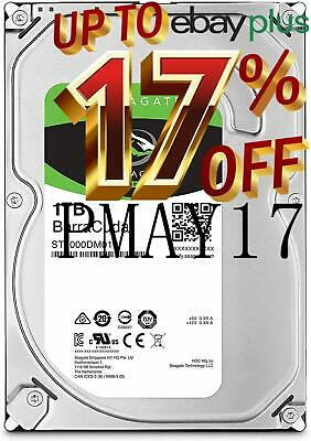 "Seagate Barracuda 1TB 3.5"" Internal Desktop Hard Drive 7200rpm 64MB SATA 6GB hdd"