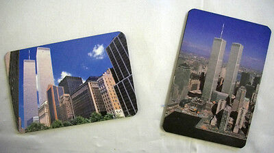 12 TWIN TOWER MAGNET ADDRESS BOOK wallet size new york phone name books magnets