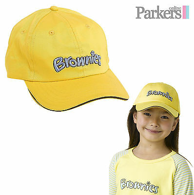 Brand New Brownies Baseball Cap Brownies Girl Guides Uniform One Size