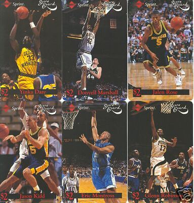 Sprint 1st Issues Basketball Rookies