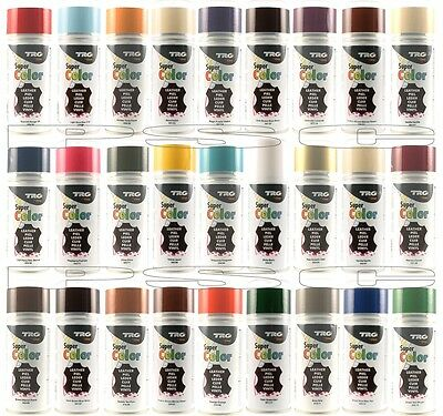 MAGIX TRG 150ml LEATHER VINYL DYE SPRAY ALL COLOURS /Shoes /Boots /Car Seats