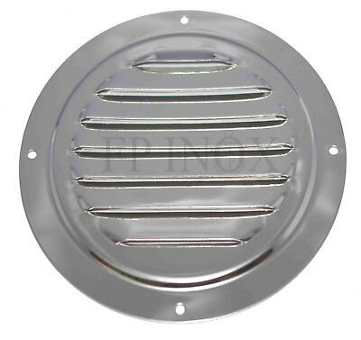 Grille Ronde 128 mm inox 316L Ref 5330172
