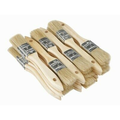 """LOT 100 Natural  Bristle 2.5"""" Chip Brush Paint Stain 2.5 inch brushes 2-1/2"""