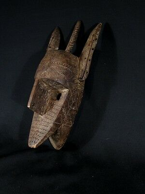 Superb 19th century African Tribal Bamana Zoomorphic mask