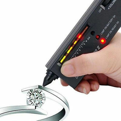 NEW 2in1 DUAL DIAMOND / Gemstone TESTER TOP QUALITY 3D