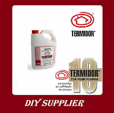 2.5 Litre Termidor sc termiticide termite ants treatment pest control barrier