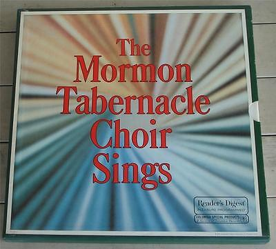 Vintage 33 1/3 RPM Record Collection, The Mormon Tabernacle Choir Sings, EXC CND
