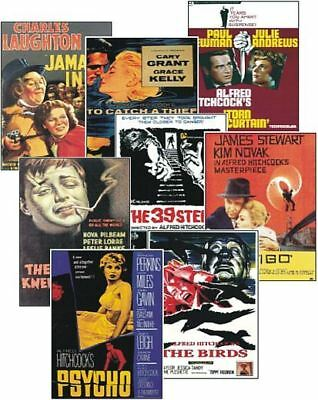 Alfred Hitchcock Film Poster Trading Card Set