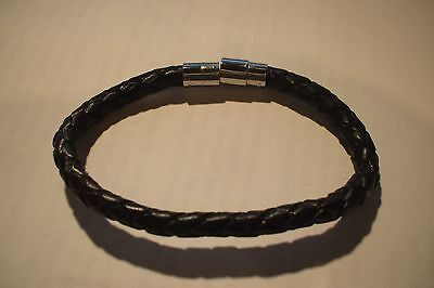 **NEW CLASP BRAIDED LEATHER** by BIONIC BAND *Pain Relief & ENERGY* Better Golf