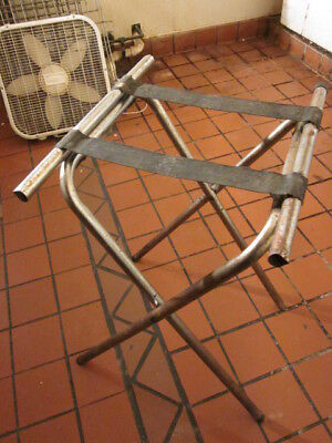 Lot Of 3 Metal Server Tray Holders - Must Sell! Send Any Any Offer!