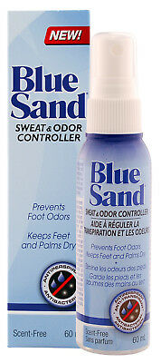 BLUE SAND ANTIPERSPIRANT 60mL- PREVENTS EXCESSIVE SWEATING /  HYPERHIDROSIS