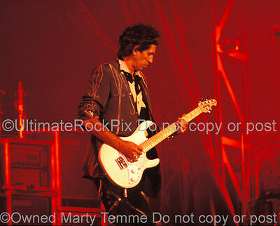 KEITH RICHARDS PHOTO THE ROLLING STONES 1989 Concert Photo by Marty Temme