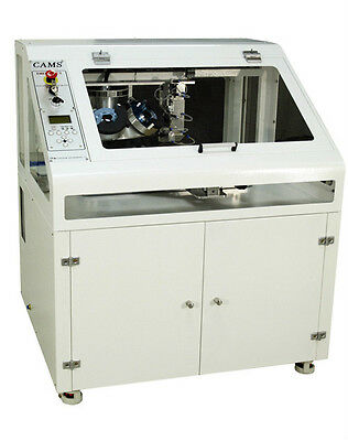 CAMS 1V-6P Automatic Rhinestone Setting Machine: 6 Color Rhinestone Production