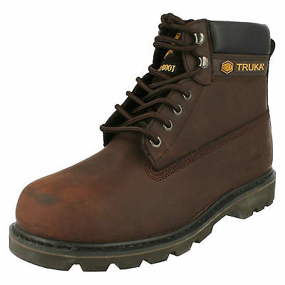 WHOLESALE Mens Safety Boots / Sizes 4-7 / 6 Pairs / WL02 SAFETY