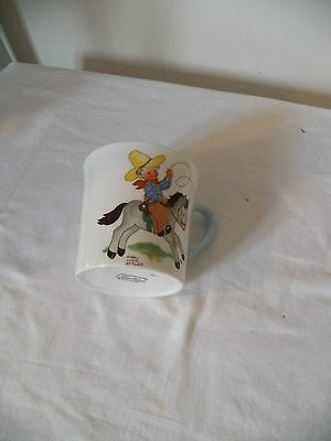 Shelley China - Mabell Lucie Attwell - Fairy Tale Folklore Cup - Cowboy James