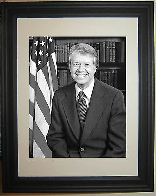 President Jimmy Carter Framed Photo Picture