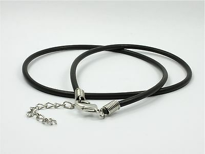 ~Custom Made~ Silicon RUBBER Cord Choker NECKLACE 1mm / 2mm / 2.5mm / 3mm / 4mm