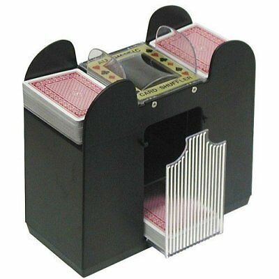 Casino 6 Deck Automatic Card Shuffler Bridge and Stand.
