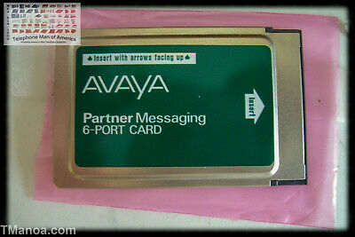 Avaya Partner Messaging 6 Port PC Card 700262470 700015076 700262470 515C1