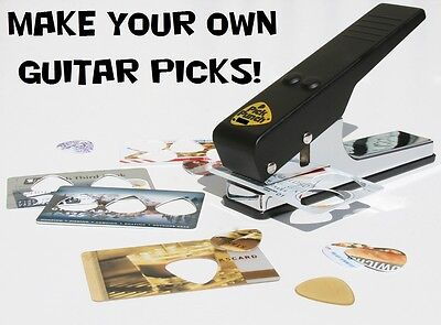 PICK PUNCH Make Guitar Picks from many materials