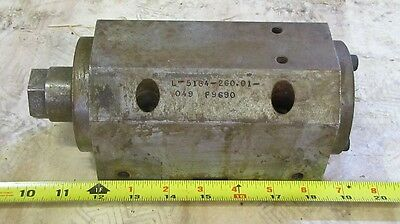 "Setco L-5184-260-01 Spindle Precision Box 3.75"" High 4"" Wide 9.125"" Long"