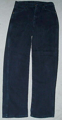 2 Pair Boys BLACK Jeans ~ 30x30 ~Perfect Wrangler & Rustler