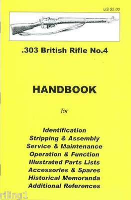 .303 British Rifle No. 4 Takedown Manual Guide