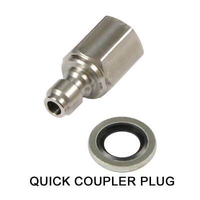 BEST Fittings Quick Coupler Plug, Fits BSA, Webley, Air Arms etc Fill Probes