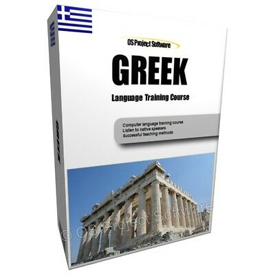 Learn To Speak Greek Language Training Course Pc Dvd New
