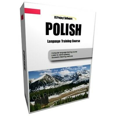 Learn To Speak Polish Language Training Course Pc Dvd New