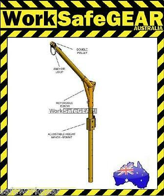 Work Safe Davit Arm Hoist Retrieval System Crane 42-48 inch Reach