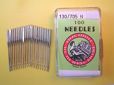 20 Organ Sewing Machine Needles 100/16 Fits Toyota/Janomesinger/Pfaff/Brother ++