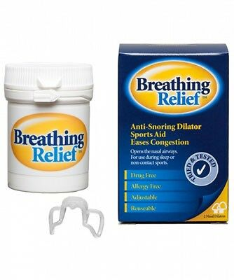 Breathing Relief Stop Snoring use for Sports Dilator Helps Nasal, Sinus Apnoea