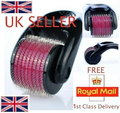 4 x New Micro 540 Needle Roller Acne Scar Cellulite Wrinkles Hair Loss Derma mm