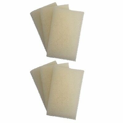 6 x INTERPET PF1 REPLACEMENT FOAMS Interpet PF Internal Filter