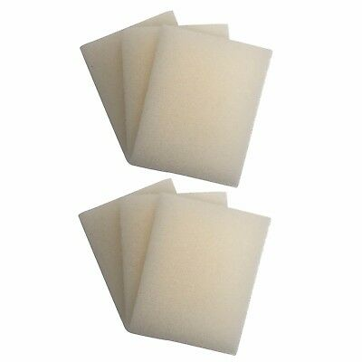 6 x INTERPET PF2 REPLACEMENT FOAMS Interpet PF Internal Filter