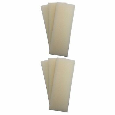 6 x INTERPET PF4 REPLACEMENT FOAMS Interpet PF Internal Filter