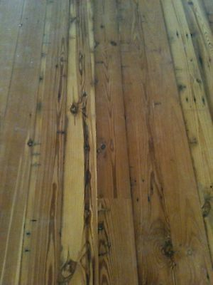 Reclaimed - Old Growth - Long Leaf Pine - Antique Pine Floor 100 Year Old