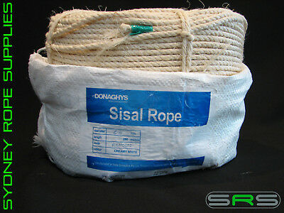 8MM X 250MTR Sisal Rope Excellent Quality - $109 90