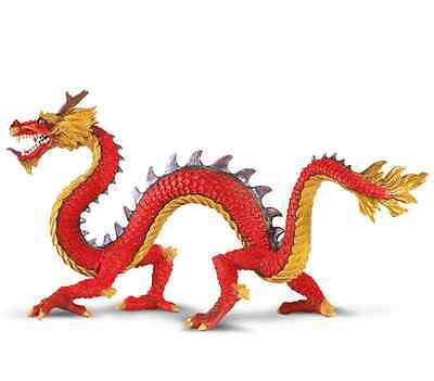 HORNED CHINESE DRAGON # 10135 Classic Fantasy Model FREE SHIP/USA w/ $25+SAFARI