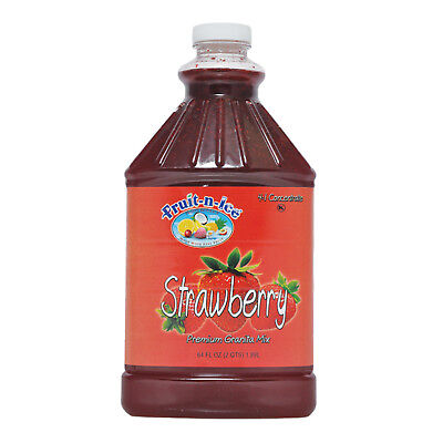 Fruit-N-Ice - Granita /Frozen Drink Mix STRAWBERRY 64oz