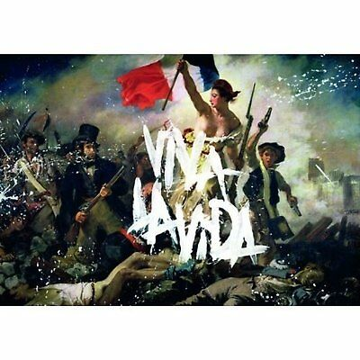 Coldplay Viva La Vida Postcard Album Cover Image Picture Gift 100% Official