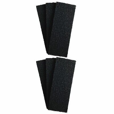 6 x INTERPET PF4 REPLACEMENT CARBON FOAMS Interpet PF Internal Filter