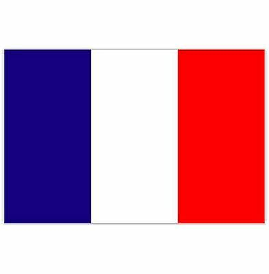 Large France French Flag 5X3Ft 5'x3'  Eyelets For Hanging