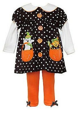 24 mo new NWT RARE EDITIONS girls HALLOWEEN Cotton Blend Tunic /& Leggings sz 12