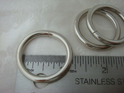 25pcs -1'' Welded O Rings for webbing strapping, 1 inch Heavy O ring