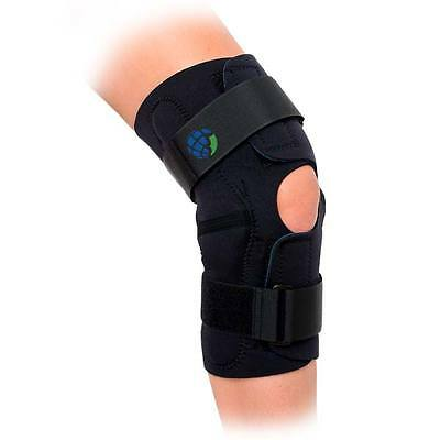 Advanced Orthopaedics Hinged Wrap Around Knee Brace Support /Sizes: Small to 5XL
