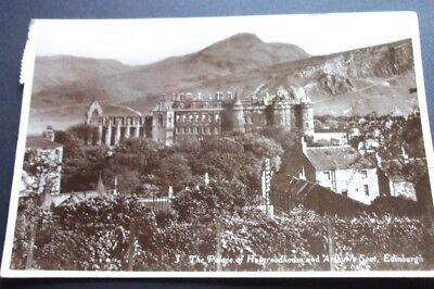 Old Postcard Of The Palace Of Holyroodhouse Edinburgh 1931